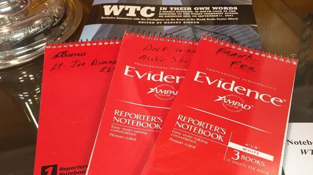 Harvey Eisner Interview Notebooks