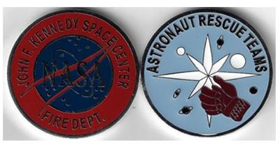 Apollo and Skylab Astronaut Rescue Teams Challenge Coin
