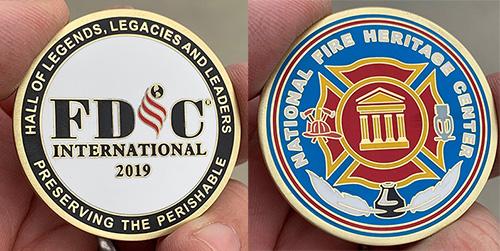 NFHC / FDIC 2019 Challenge Coin